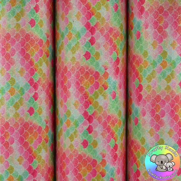 Exotic Mermaid Fine Glitter Fabric