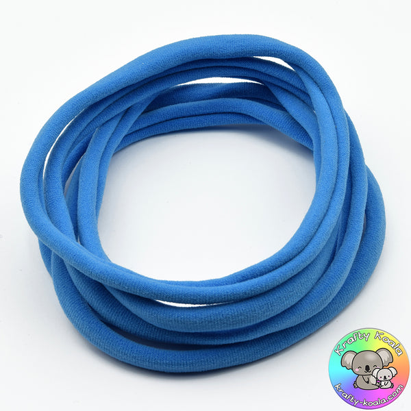 French Blue Nylon Headbands