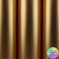 Gold Satin Vinyl Fabric
