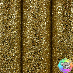Gold Ultra Chunky Glitter Fabric