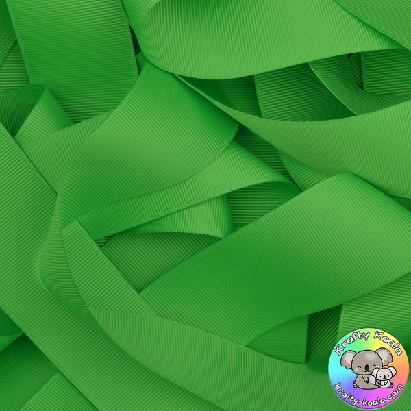 Green Flash Grosgrain Ribbon