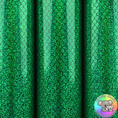 Green Mermaid Vinyl Fabric