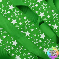 Green Stars Ribbon