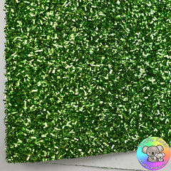 Green Tinsel Fabric