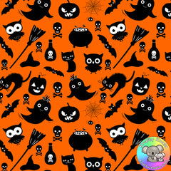 Halloween Fabric 1