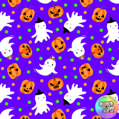 Halloween Fabric 4
