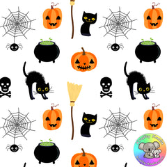 Halloween Fabric 5