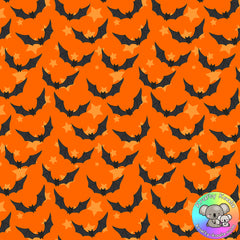 Halloween Bats Fabric 2