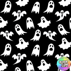 Halloween Ghosts Fabric 1