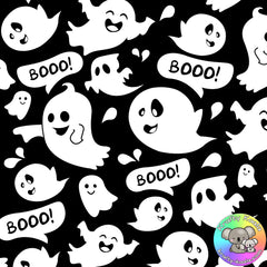 Halloween Ghosts Fabric 3