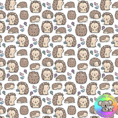 Hedgehogs Fabric