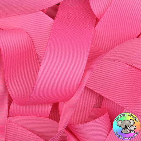 Hot Pink Grosgrain Ribbon