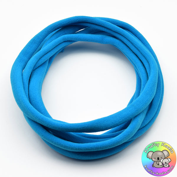 Island Blue Nylon Headbands