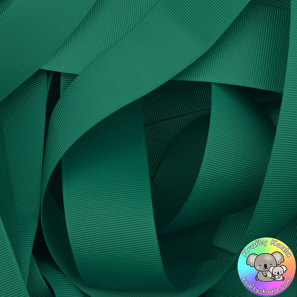 Jade Grosgrain Ribbon