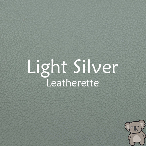 Light Silver Leatherette