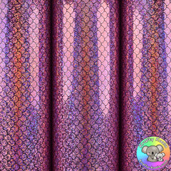 Lilac Mermaid Vinyl Fabric