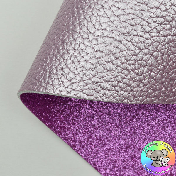 Lilac Pearl Double Sided Fabric