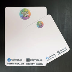 Multipack Custom Logo Display Cards (50 of each type)