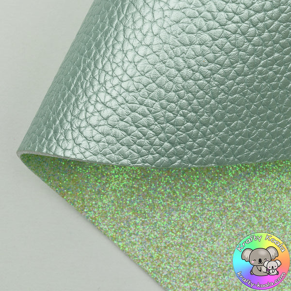 Mint Pearl Double Sided Fabric