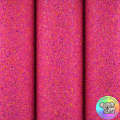 Neon Party Chunky Glitter Fabric
