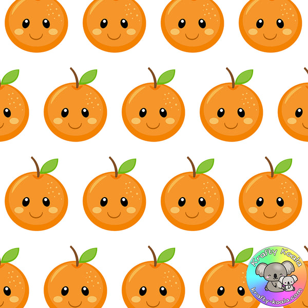 Oranges Fabric