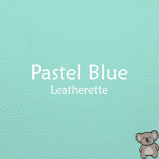 Pastel Blue Leatherette