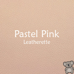 Pastel Pink Leatherette