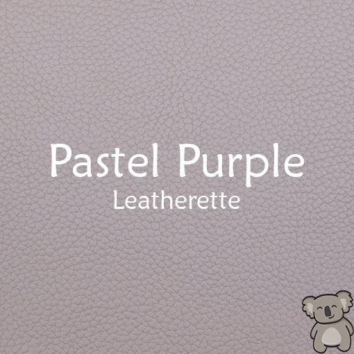 Pastel Purple Leatherette