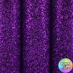Purple Ultra Chunky Glitter Fabric