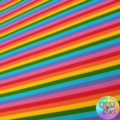 Rainbow Stripes Fabric