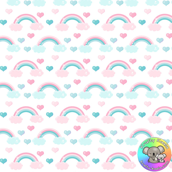 Rainbows Fabric