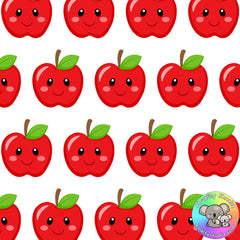 Red Apples Fabric