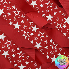 Red Stars Ribbon