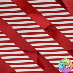 Red Stripes Ribbon