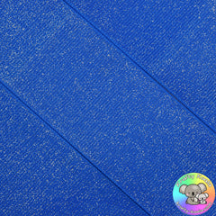 Royal Blue Glitter Grosgrain Ribbon