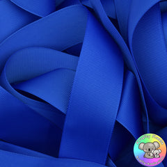 Royal Blue Grosgrain Ribbon Rolls