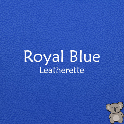Royal Blue Leatherette