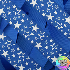 Royal Blue Stars Ribbon