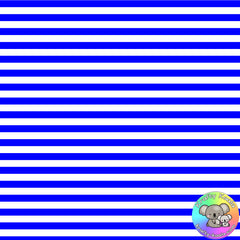 Royal Blue Stripes Fabric