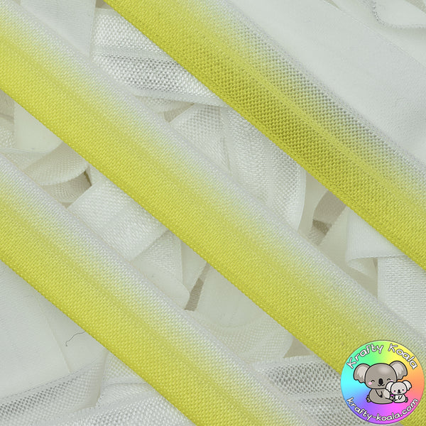 Sunshine Yellow Fold Over Elastic