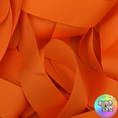 Tangerine Orange Grosgrain Ribbon