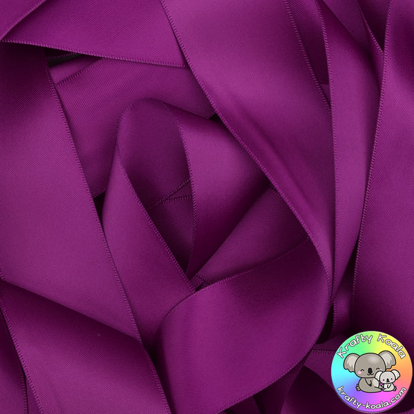 Ultra Viole Satin Ribbon