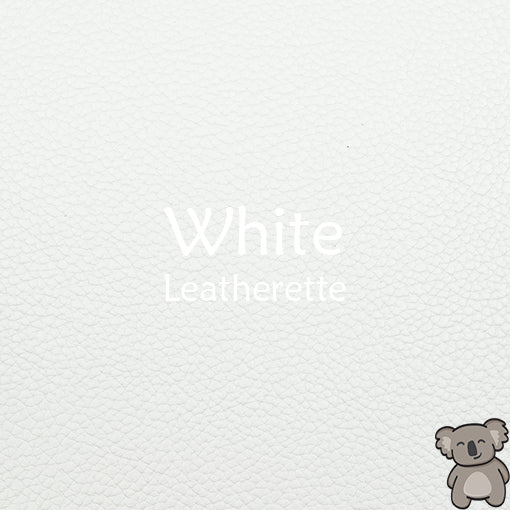 White Leatherette