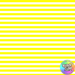 Yellow Stripes Fabric