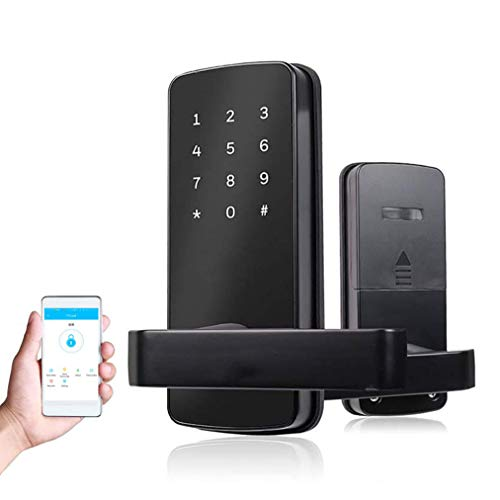 COOLOUS Smart Lock Bluetooth Keyless Touchscreen Digital Door Lock Smart Deadbolt Fully Automatic (with Handle) - Coolous online