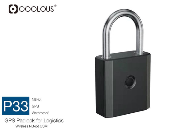 Nb-IoT GPS Smart Padlock for Logistics (Only bulk orders accepted via email)