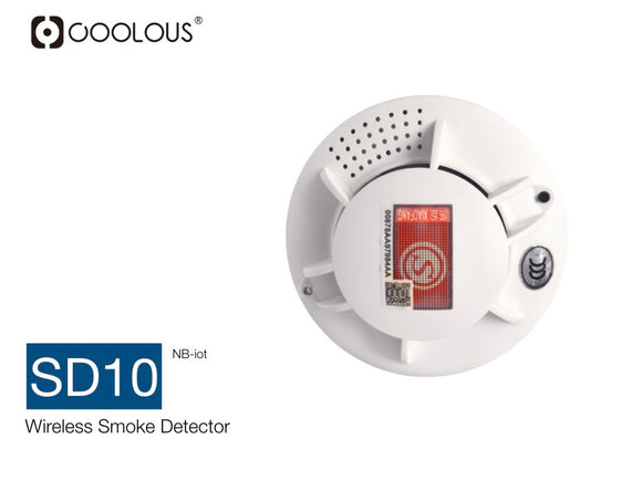NB-IoT Smoke Detector Alarm with Battery Powered with Ring Alarm Security System (Only bulk orders accepted via email)