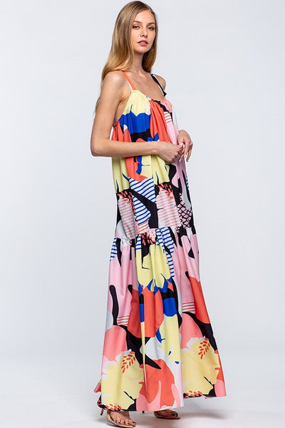 Pick Me Floral Maxi Sundress (More Colors)