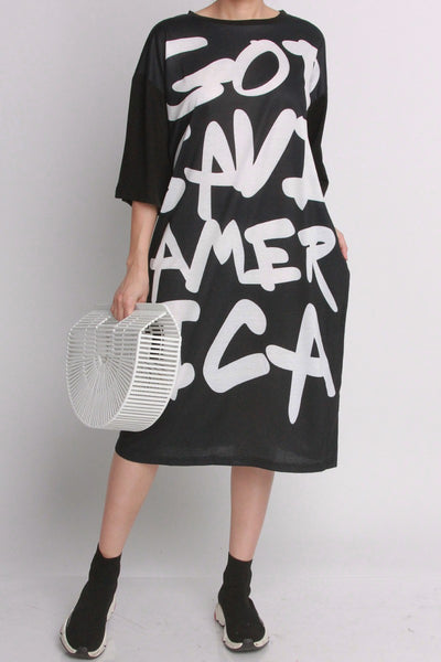 God Save America Knit Dress (More Colors)