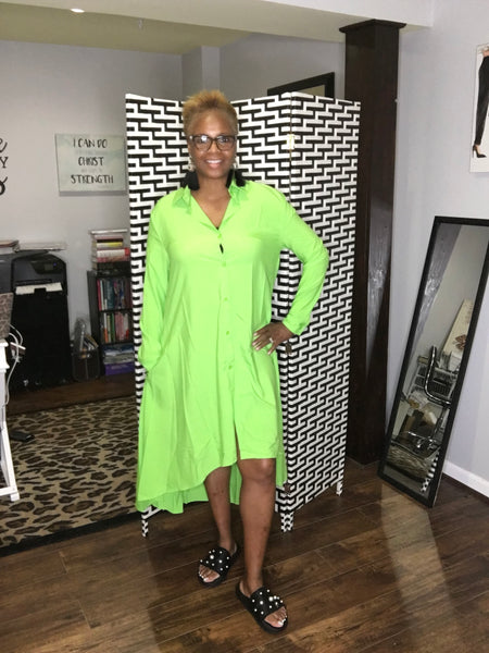 Limeade Hi-Lo Dress
